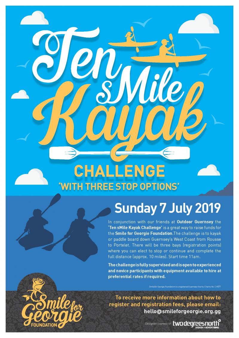 10 sMile Kayak Challenge