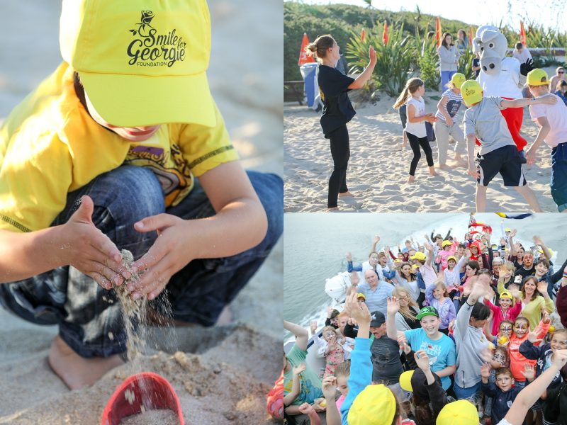 Smile for Georgie Foundation takes 103 children for fun evening in Herm