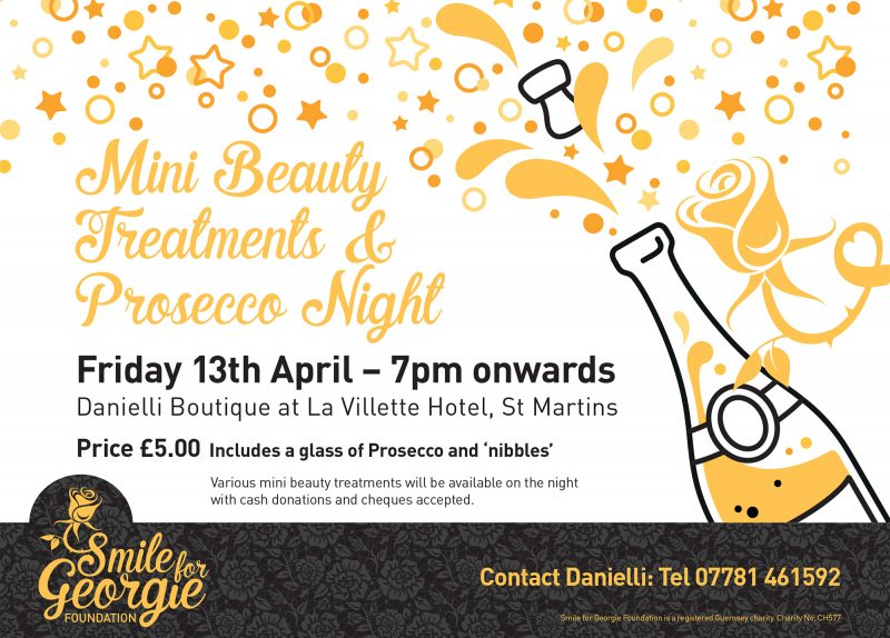 Mini Beauty Treatments & Prosecco Night