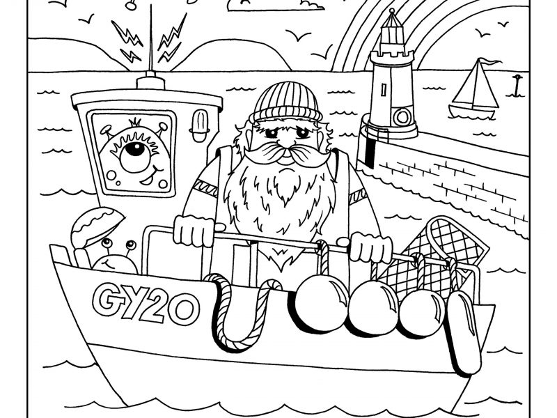 Community Colouring Competition – WEEK 3