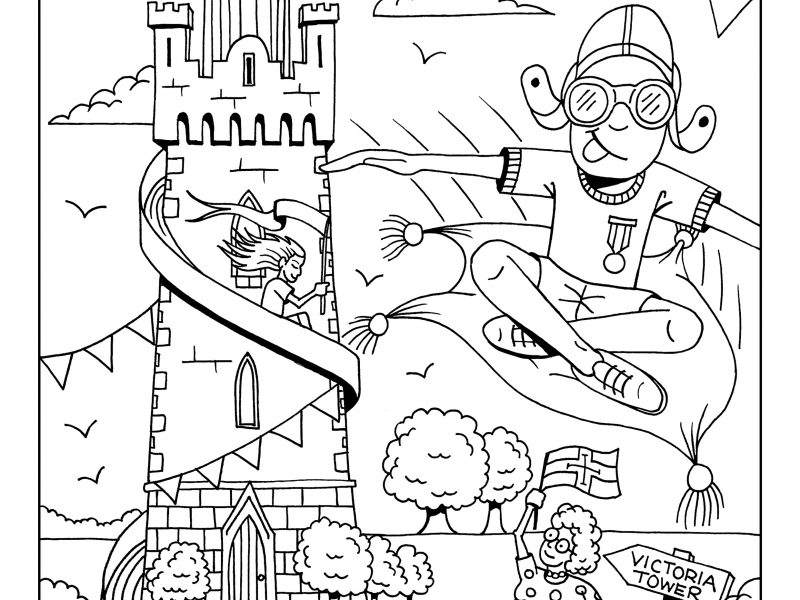 Community Colouring Competition – WEEK 5