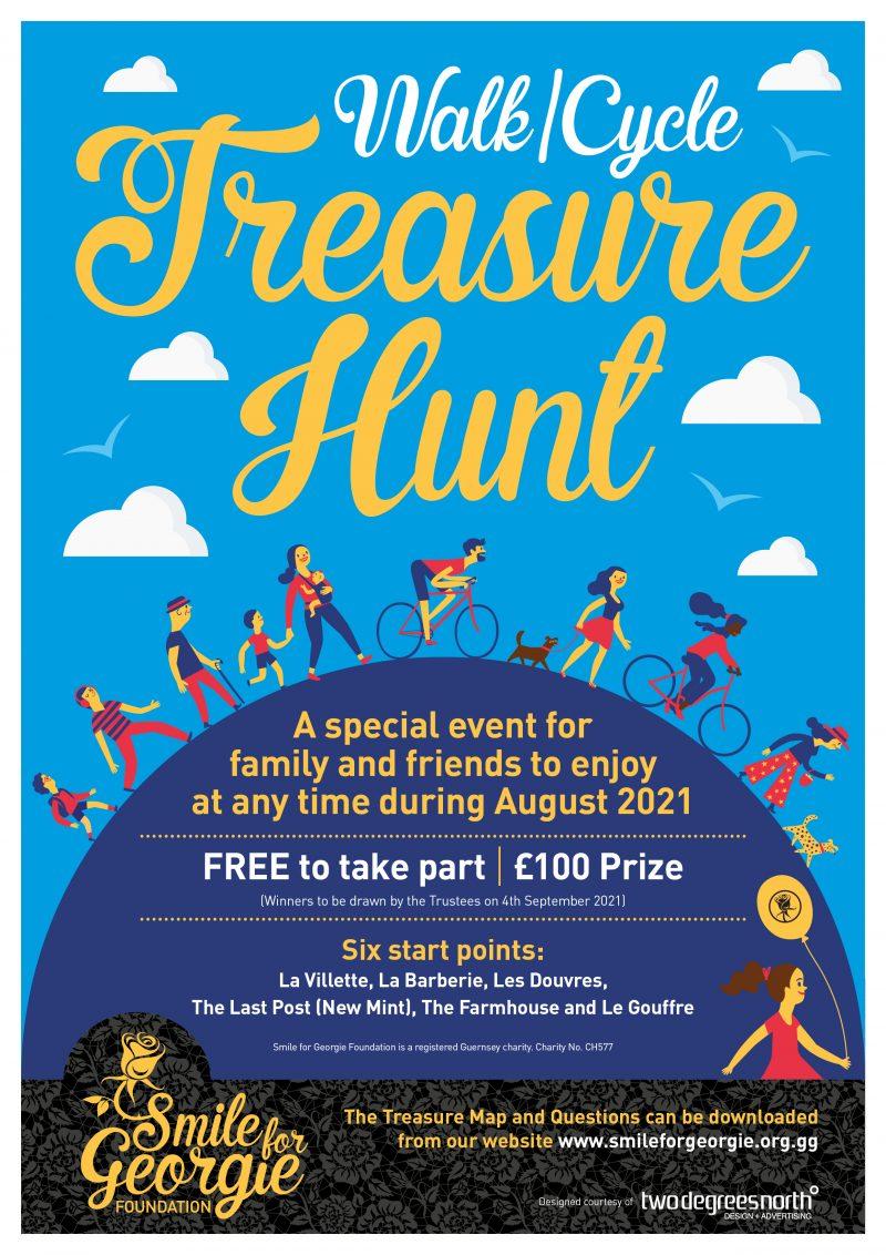 Smile For Georgie – Treasure Hunt